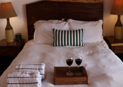 Hotel Playa Cambutal double bed