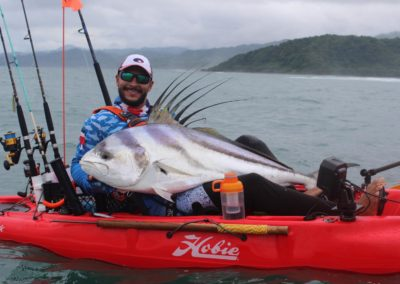 Darret Cortes 58 inch rooster from kayak los buzos