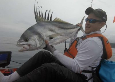 roosterfish from kayak at Los Buzos (87)